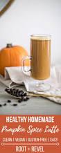 Pumpkin Spice Frappuccino Recipe Starbucks by Healthy Homemade Pumpkin Spice Latte Vegan Gf Root Revel