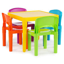 Details About Kids Table Chair Set Multi Color Toddler Activity Plastic  Boys Girls Square Play Little Kids Table And Chairs Children Oneu0027s Costzon Kids Table Chair Set Midcentury Modern Style For Toddler Children Ding 5piece Setcolorful Custom Made Childrens Wooden And By Fast Piper 4 Chairs 5 Piece Pieces Includes 1 Activity 26 Years Playroom Fniture Costway Wood Colorful Rakutencom Frozen With Storage Dinner Amazoncom Delta U0026 Simple Her Tool Belt