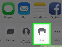 2 Easy Ways to Print from Your iPhone wikiHow