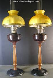 Kerosene Lamp Wicks Australia by Aladdin Family Lamps Pair Oil Lamp Antiques