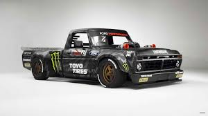 Ken Block Now Has A 1977 Ford F-150 Hoonitruck With 914 Horsepower