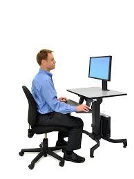 Ergotron Workfit D Sit Stand Desk by Ergotron Workfit D Sit Stand Desk Desk And Cabinet Decoration