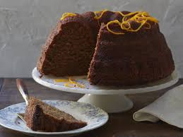 Orange Spiced Rye Honey Cake
