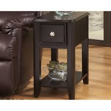 Shop Signature Designs By Ashley Chairside End Table - Free Shipping ... Leick Delton Narrow Chairside End Table Fniture 10405 Amazoncom Boa Collection Solid Wood With Drawer The New Way Home Decor Easy Marion Ashley Homestore Slatestone Oak Rustic Finish Mission W 2 Open Shelves By Signature Design Sunny Designs Albany Chair Side With Door In Weathered Black 2019 Guest Room Huntley Espresso 15 14 Wide Accent Rattan Sofa Short Antique White Small Cottage Chaoal Gray Unique Ideas