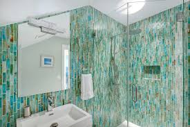 turquoise wall paint bathroom contemporary with architectural