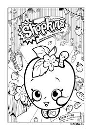 Shopkins Coloring Pages And