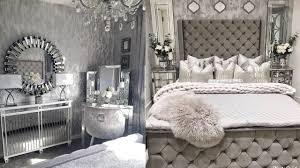 glam grau schlafzimmer wohnzimmer tour inspiration