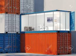 100 Converted Containers Freight Containers One Container Is Converted Into An Office