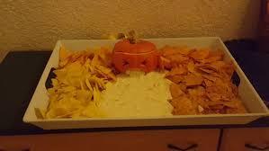 Vomiting Pumpkin Dip by Vomiting Pumpkin Or How To Serve Nachos At Helloween 5 Steps
