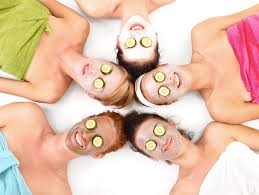 Having Spa Nights Are A Great Way To Wind Down And Relax But Doing Them With Your Friends Even Better Find DIY Facial Recipes Laugh As You Realize