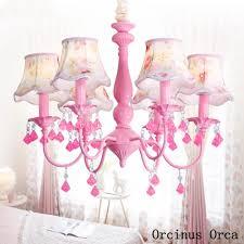 amerikanischen pastoralen rosa kristall kronleuchter mädchen schlafzimmer prinzessin zimmer kinder zimmer le koreanische romantische led blume