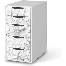 creatisto möbel folie passend für ikea alex 5 schubladen i möbelfolie möbel sticker aufkleber i deko ideen wohnung für esszimmer und