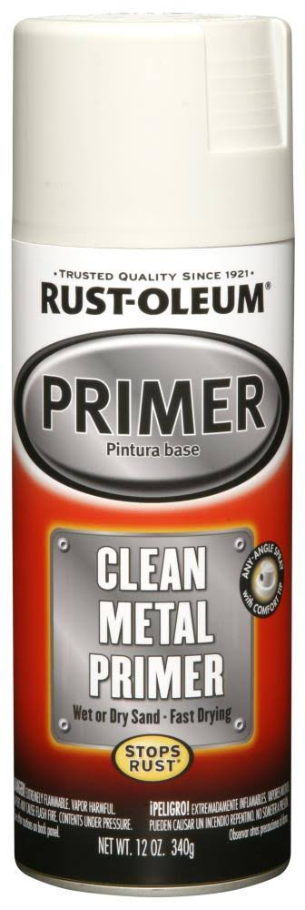 Rust-Oleum Metal Primer - Clean, .236ml