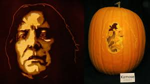 Harry Potter Pumpkin Carving Templates by Severus Snape Pumpkin From Harry Potter By Kamose On Deviantart