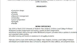 1 Entry Level College Professor Resume Templates: Try Them ... Collection Of Solutions College Teaching Resume Format Best Professor Example Livecareer Adjunct Sample Template Assistant Clinical Samples And Templates Examples For Teachers Awesome 88 Assistant Jribescom English Rumes Biomedical Eeering At 007 Teacher Cover Letter Ideas Education Classic 022 New Objective Statement Photos