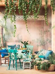tropischer wohnstil ideen passende produkte stylight