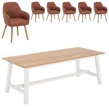 essgruppe holsted toreby 220x95 6 stühle dänisches