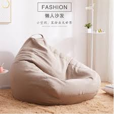hocker liege chaise wohnzimmer möbel puf sitzsack sofas ottomane faul tasche büro sitzsack sofa stühle abdeckung ohne füllstoff