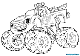 100 Monster Truck Coloring Zombie Page Printable Page For Kids
