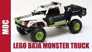 100 Monster Energy Rc Truck Lego Technic Ballistic B J Baldwin RECOIL 1 YouTube
