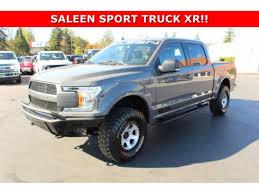 100 Ford Saleen Truck 2018 FORD F150 Tacoma WA 5004774236 CommercialTradercom