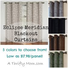 105 Inch Blackout Curtains by A Thrifty Mom U2013 Diy Recipes Crafts Online Deals Amazon Deals