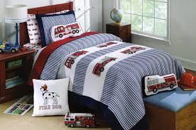 Amazon.com - Toddler Bedding Cotton 2 Piece Quilt Set Fire Truck ...