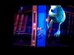 Monster inc find boo door