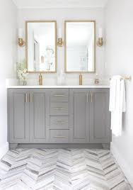 Shabby Chic White Bathroom Vanity by 11 Bright White Bathrooms Herringbone Interiors And Bath