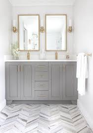 Shabby Chic White Bathroom Vanity by 11 Bright White Bathrooms Herringbone Interiors And Bath