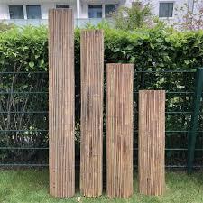 sichtschutz bambus sichtschutzzaun sichtschutzmatte balkon windschutz 100 x 500 cm