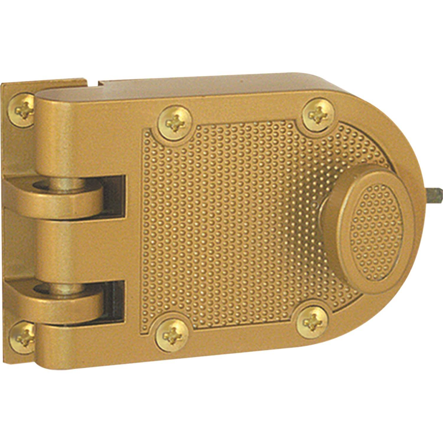 Prime-Line Products U 9970 Jimmy-Resistant Deadlock - Brass