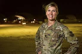 Blueprint of success Deployed Air National Guard officer bines