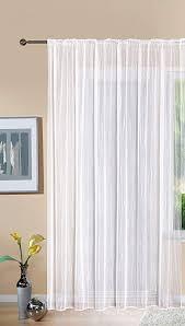 gardine store jacquard hxb 225x300 cm kräuselband universalband weiß längsstreifen transparent voile vorhang wohnzimmer 13145