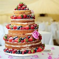31 Naked Wedding Cakes