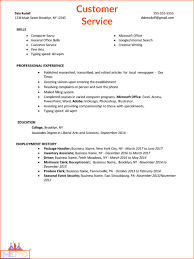 Sample Job Winning Resumes - THE METRO PATH