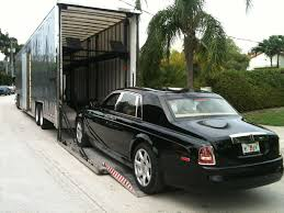 100 Rolls Royce Truck Up A In An Enclosed HardSide LiftGate Transport