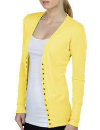 le3no womens lightweight fitted long sleeve knit cardigan
