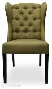 designer stuhl chesterfield lehnstuhl sessel neu esszimmer