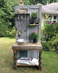 The Shed Book A Table by My Husband U0026 A Friend Constructed This From An Old Door Half A