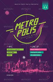 Previews Metropolis Event Poster A
