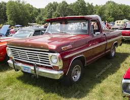 100 F100 Ford Truck Old Red Ford Truck Vintage Red Pickup