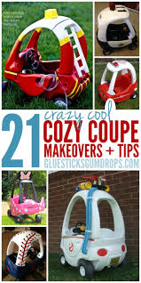 100 Fire Truck Cozy Coupe 21 Hacks To Make Over Your Kids Ride Glue Sticks And