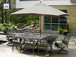 Patio Furniture Sets Sears by Hadley Bronze 10 Piece Patio Set Improve Your Outdoor Life U2013sears