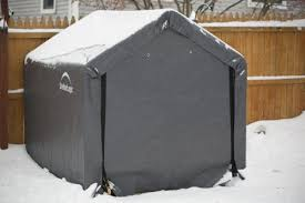 shelterlogic shed in a box 6 ft x 6 ft x 6 ft grey peak style