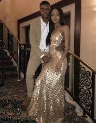 ideal sparkling gold sequin flattering mermaid prom dress