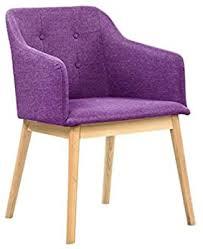 salesfever armlehnstuhl ando lila violett esszimmer stuhl