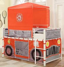100 Fire Truck Loft Bed Homelegance Combustion Bright White Combustion