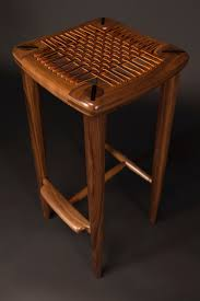 Maloof Inspired Stool – SCHOOL OF FINE WOODWORKING