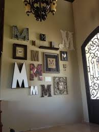 Classy Inspiration Wall Letter Decor Ideas M Rustic H B C G K J Scrabble L